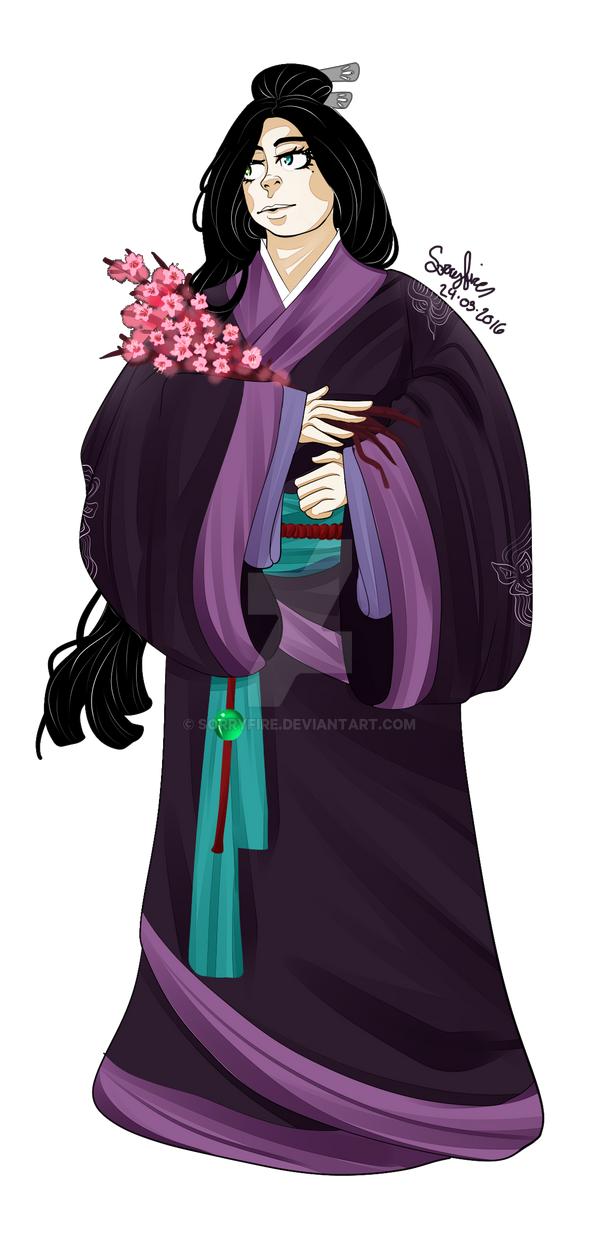 The lady who loved her garden by sorryfire