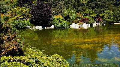 Waterscape Greenery 1 by TheMysticFlight