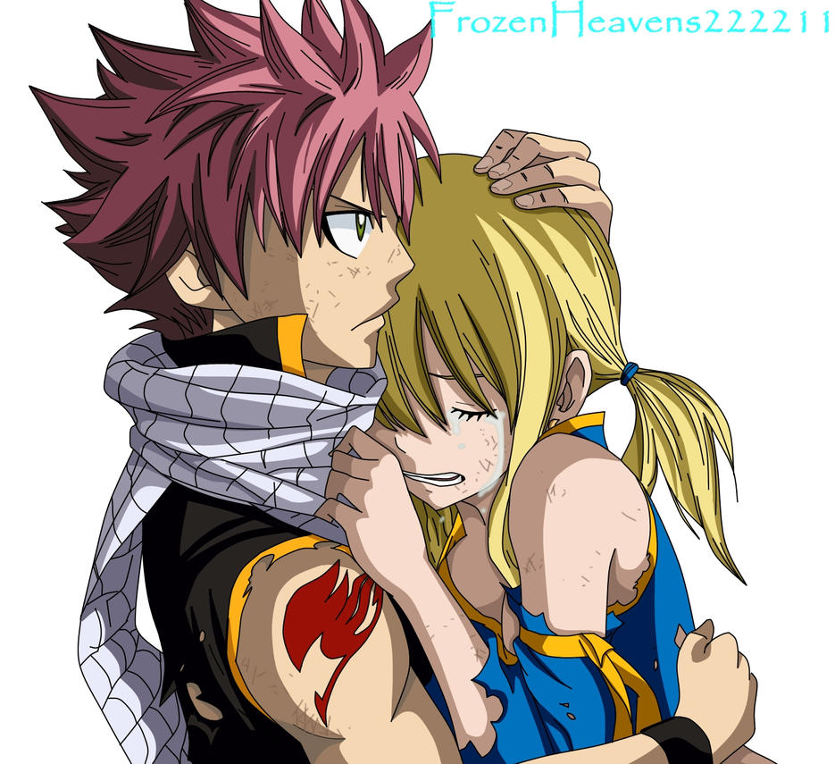 Natsu and Lucy by frozenheavens222211 on DeviantArt