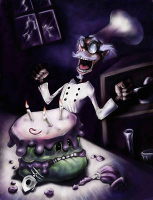 Frankencake by SKSProps
