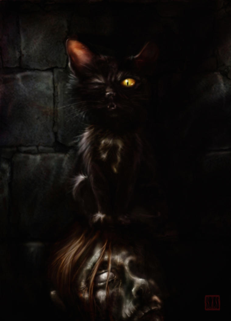 poe black cat The black cat is a short story by american writer edgar allan poe it was first published in the august 19, 1843, edition of the saturday evening post.