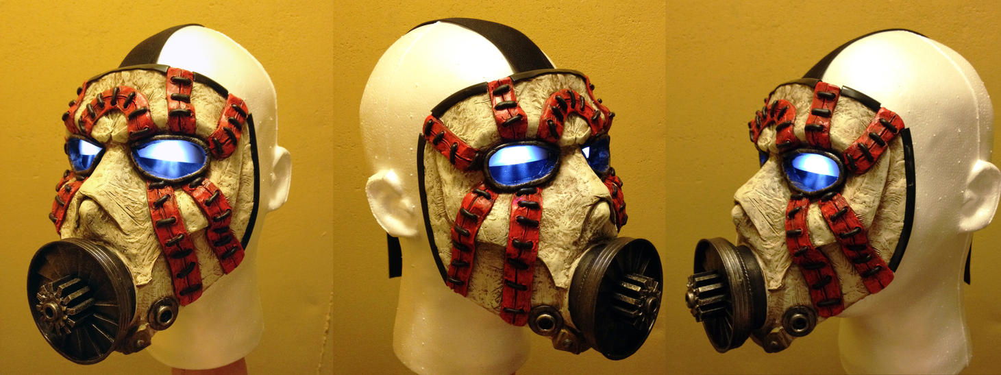 Borderlands Psycho Bandit Mask by SKSProps