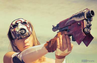 Borderlands Female Psycho  Bandit 1