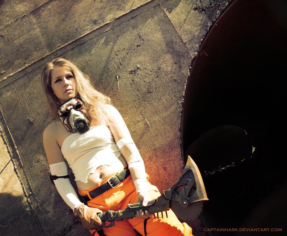 Borderlands Female Psycho Bandit 2 by SKSProps