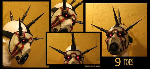 Borderlands Psycho Bandit 9 Toes Cosplay Mask by SKSProps