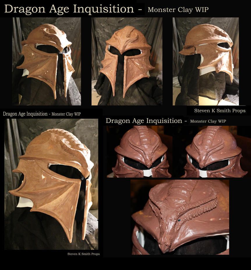 Excellent Dragon Age Inquisition - Dragon Helmet WIP #2 by SKSProps on  RJ25