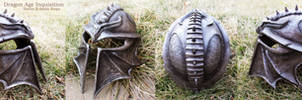 Dragon Age Inquisition Helmet - Full View