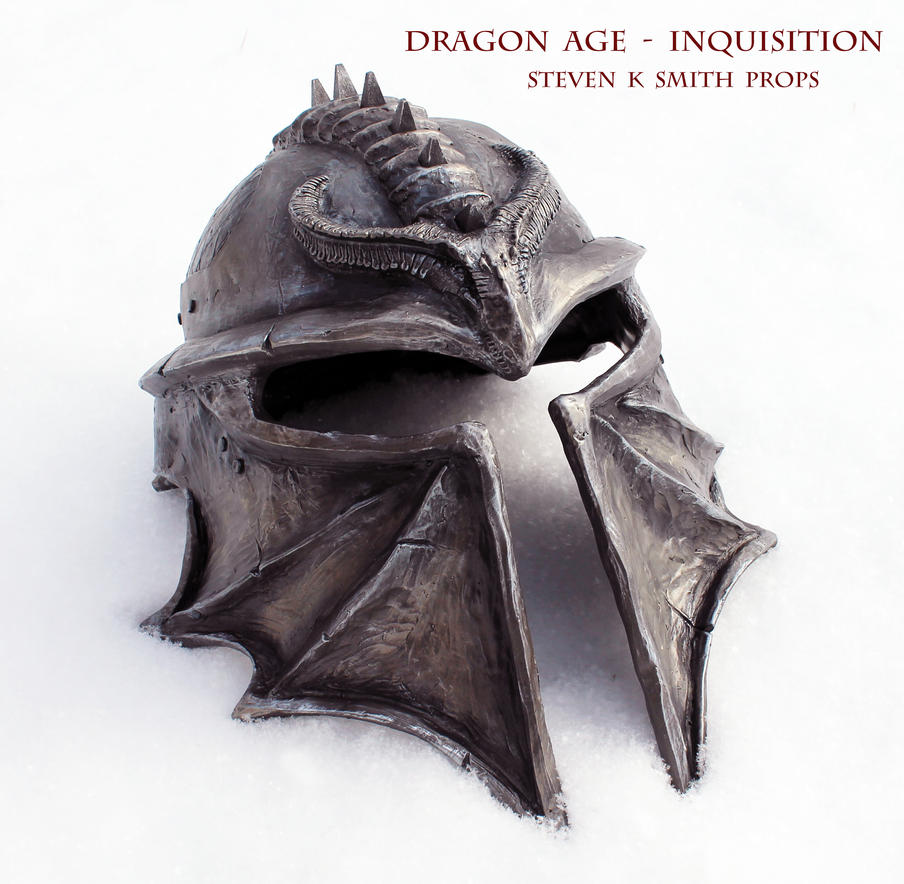Unique Dragon Age Inquisition Helmet - In Snow by SKSProps on DeviantArt BV48