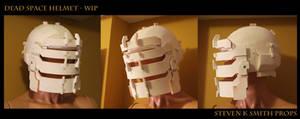 Dead Space Helmet Wip