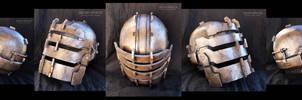 DEAD SPACE helmet - WIP Painted