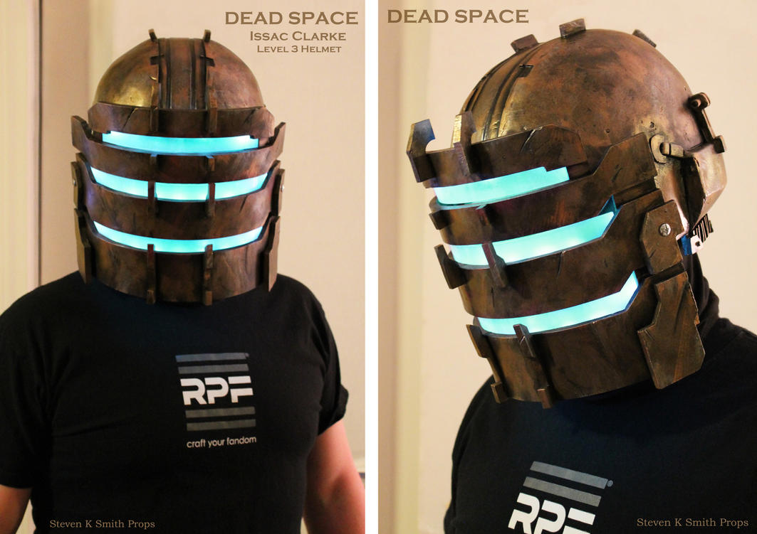 DEAD SPACE - Isaac Clarke level 3 helmet by SKSProps