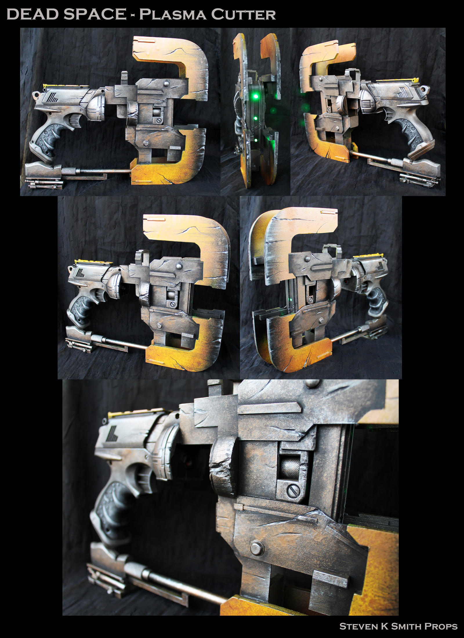 dead space plasma cutter by sksprops on deviantart