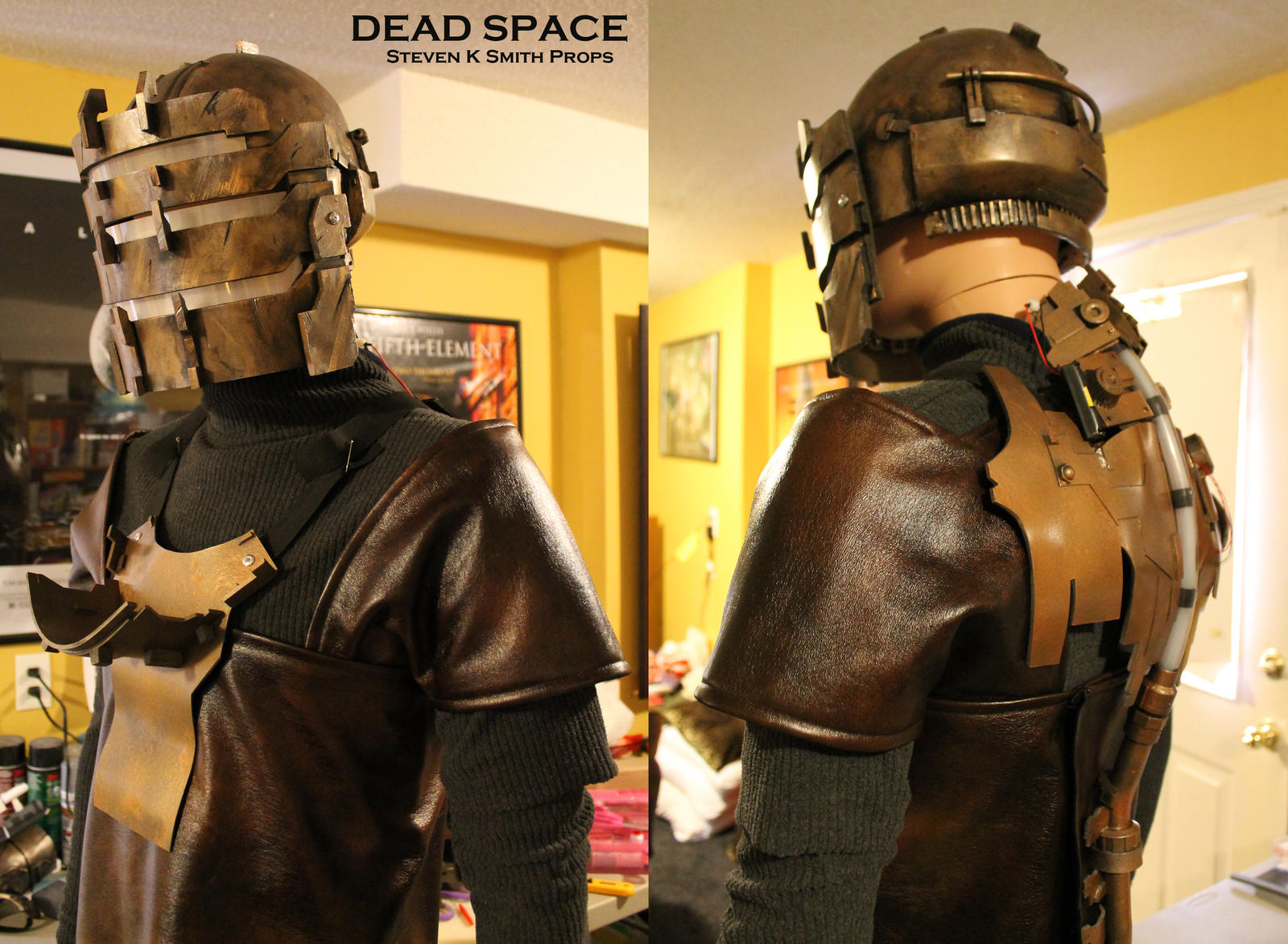 DEAD SPACE - Cosplay WIP under suit by SKSProps