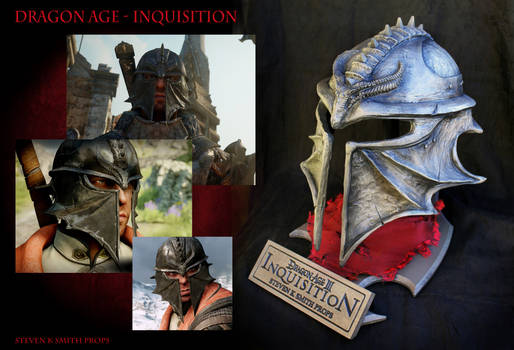 Dragon Age Inquisition Helmet Final Version by SKSProps
