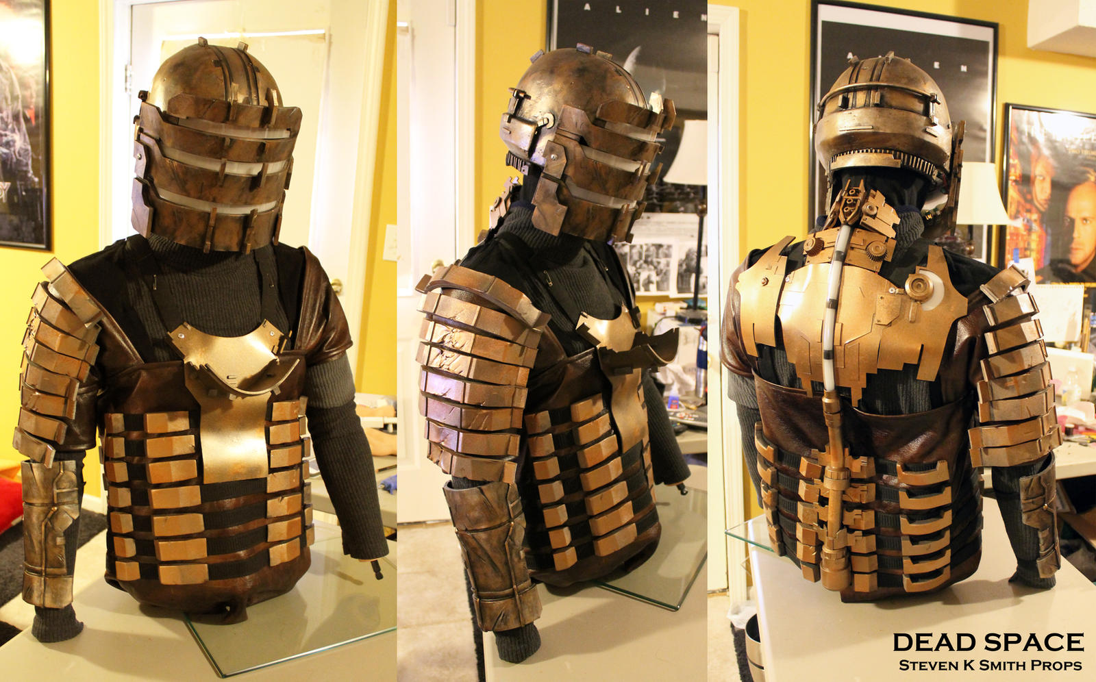 dead space cosplay wip armor by sksprops on deviantart
