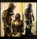 DEAD SPACE Cosplay Test Fit
