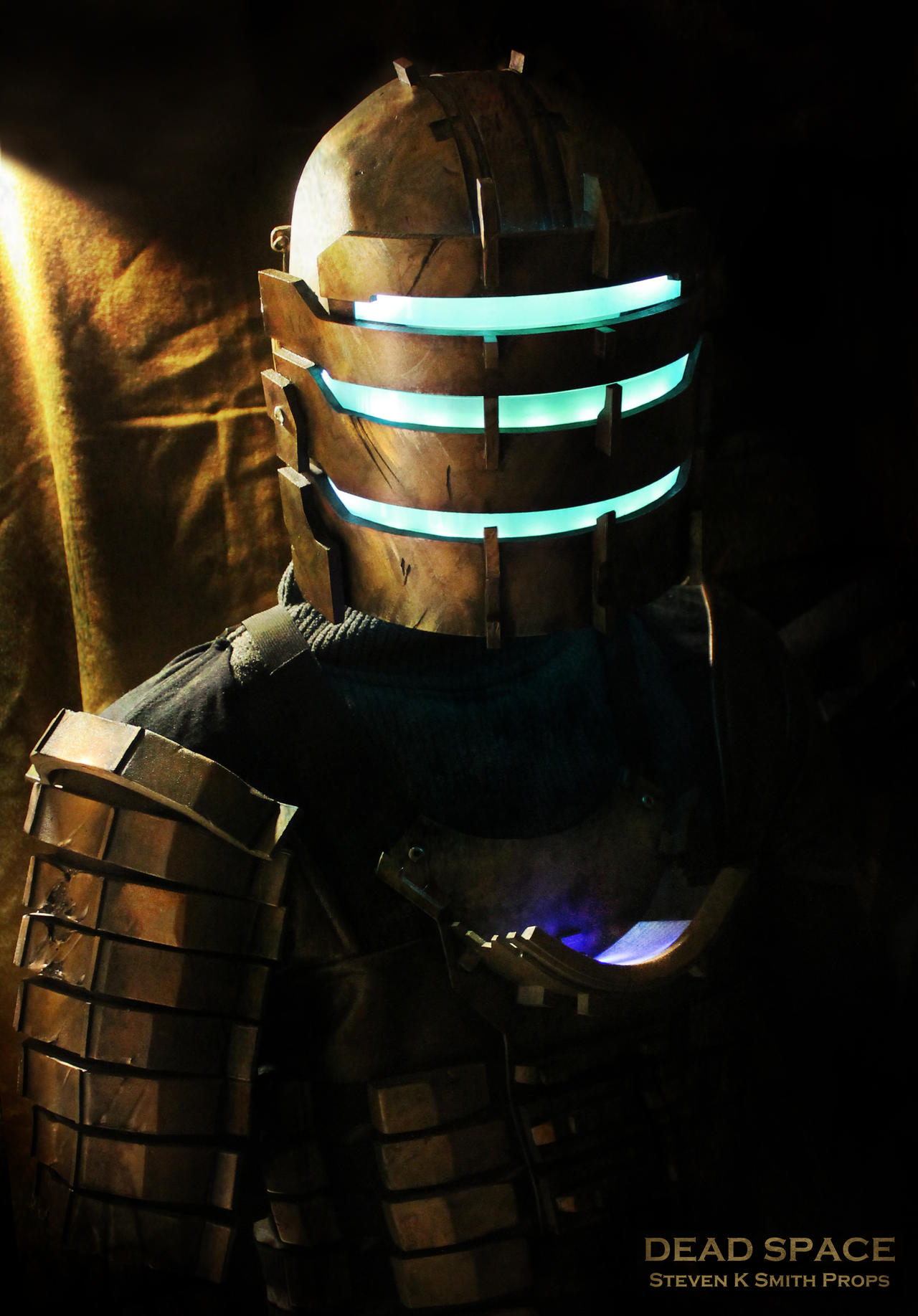 dead space isaac clarke cosplay level 3 suit 2 by
