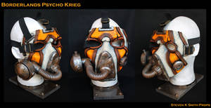 Borderlands Psycho Krieg Cosplay Mask