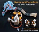 Borderlands Krieg Cosplay Mask Buzzaxe kit