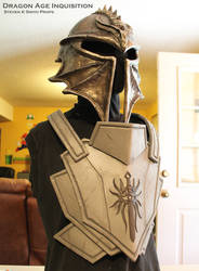 Dragon Age Inquisition WIP Inquisitor armor 1 by SKSProps