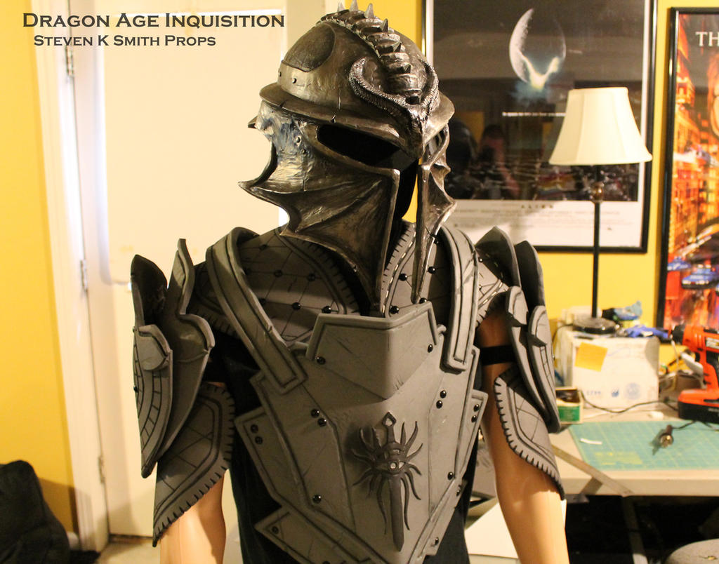 Dragon Age Inquisition WIP Inquisitor Armor 2 by SKSProps ...