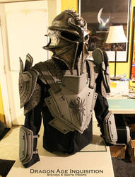Dragon Age Inquisition WIP Inquisitor Armor 3 by SKSProps