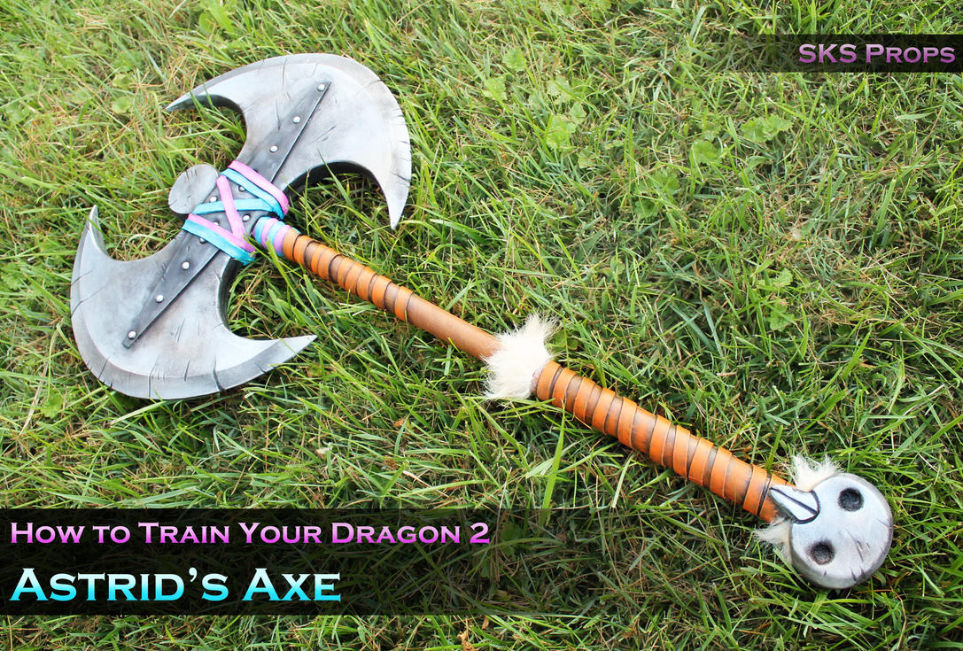 Astrid's Cosplay Axe from How To Train Your Dragon by SKSProps