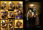 Prop / Costume Progress 2012 - 2014 SKS Props