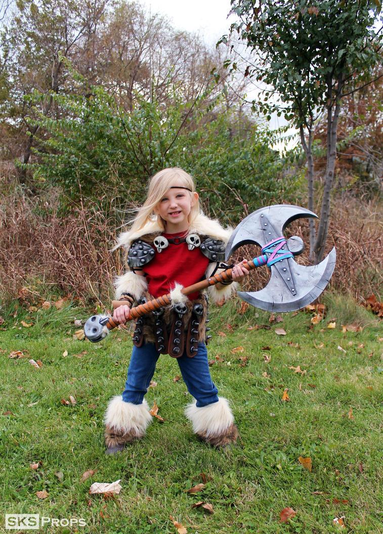 HTTYD Lil Astrid Custom Cosplay Costume SKSProps by SKSProps