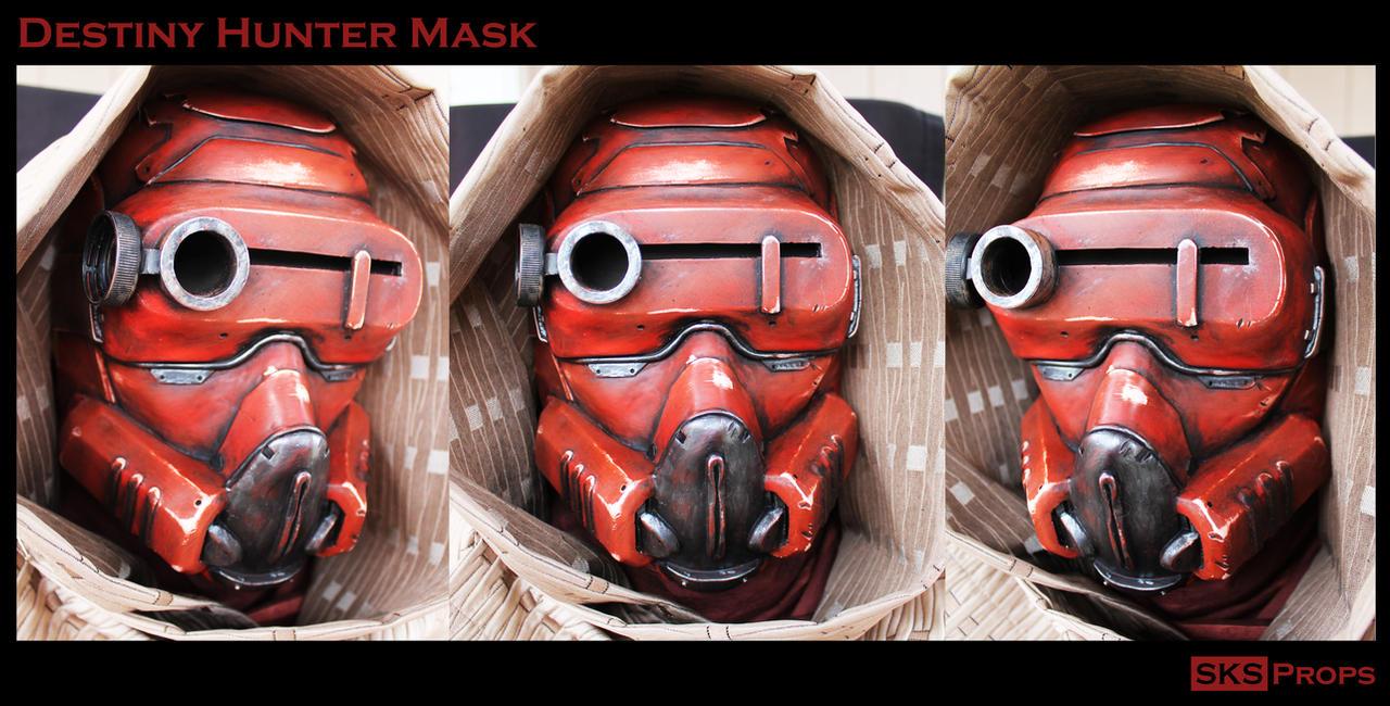 Destiny Hunter Cosplay Mask Complete