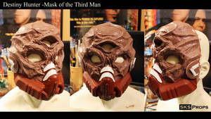 Destiny Hunter The Mask of the Third Man WIP
