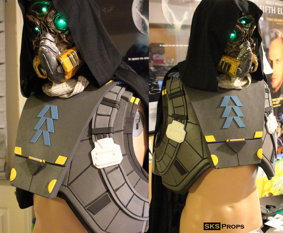 Destiny Hunter Chest Armor WIP 2 by SKSProps