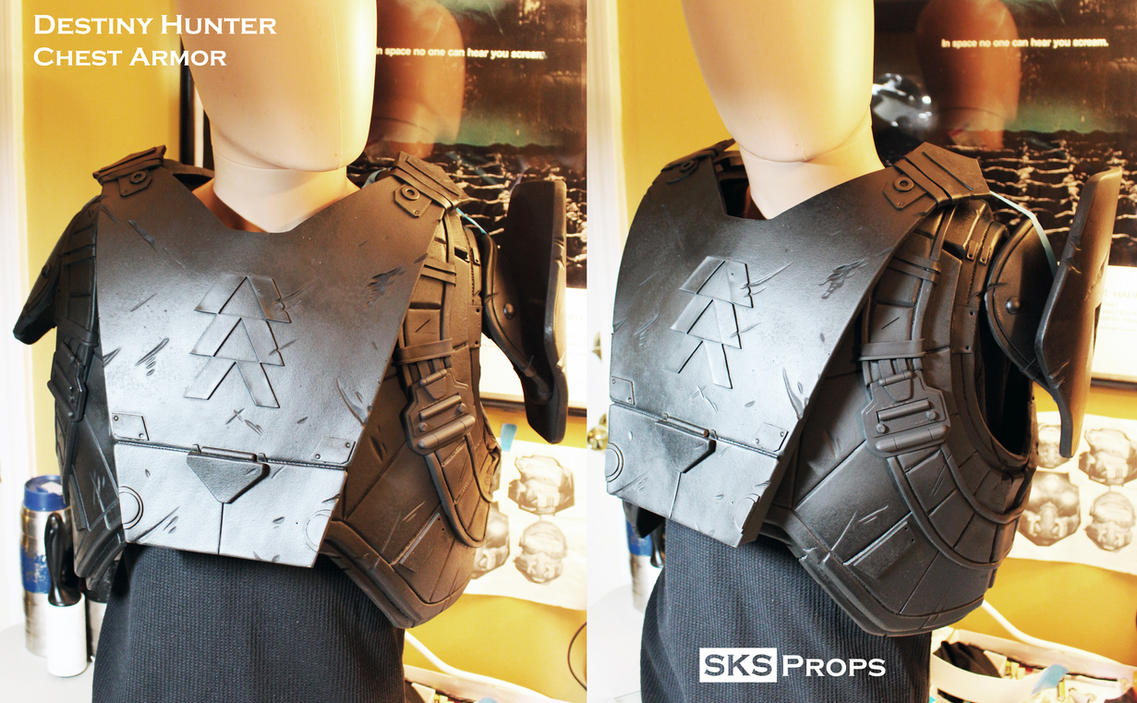 Destiny Hunter Chest Armor WIP 3 by SKSProps