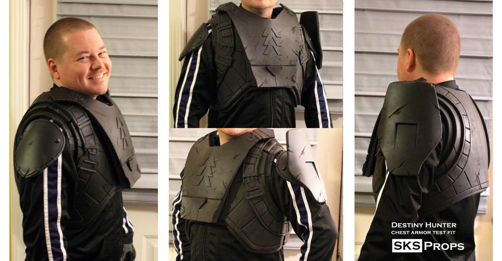 Destiny Hunter Chest Armor WIP 4 by SKSProps