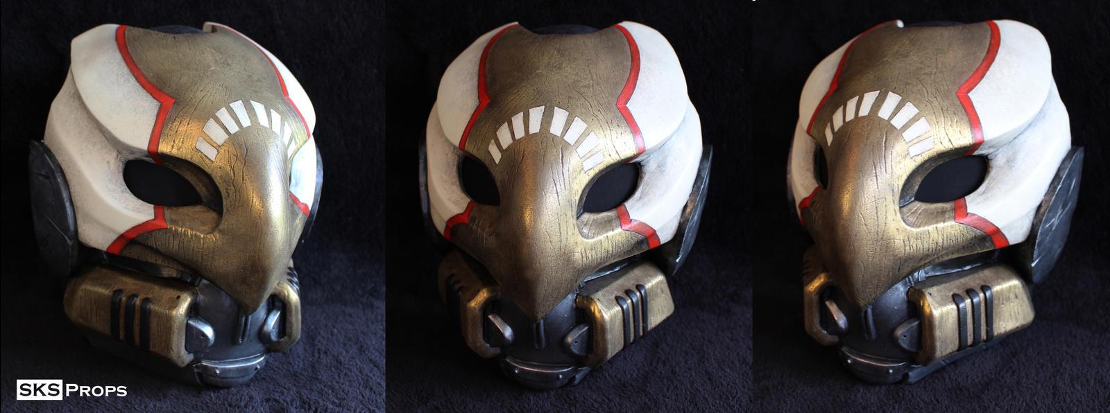 Destiny Hunter Cosplay Mask Complete by SKSProps on DeviantArt