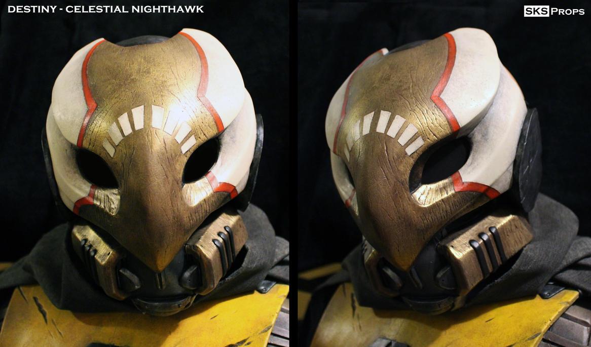 Destiny Hunter Celestial Nighthawk Mask SKS Props by SKSProps