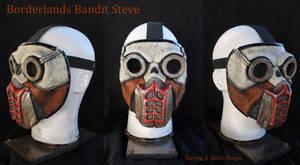 Borderlands Bandit Steve Cosplay Mask Heyooo!!