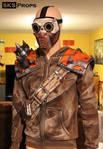 Borderlands Bandit Steve Cosplay cell shading