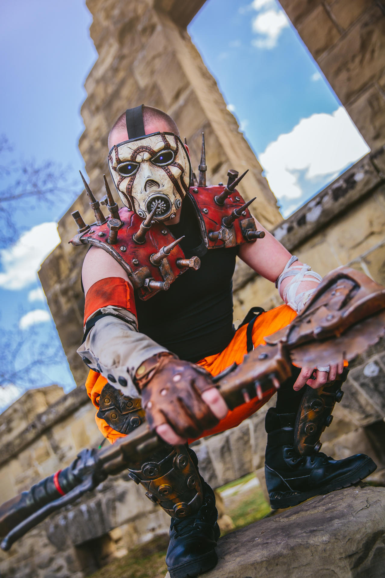 Borderlands Psycho Cosplay SKS Props Calgary Expo