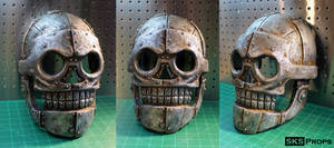 Skeletron Mask from Turbo Kid SKS Props