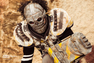 Turbo Kid Skeletron Cosplay - SKS Props