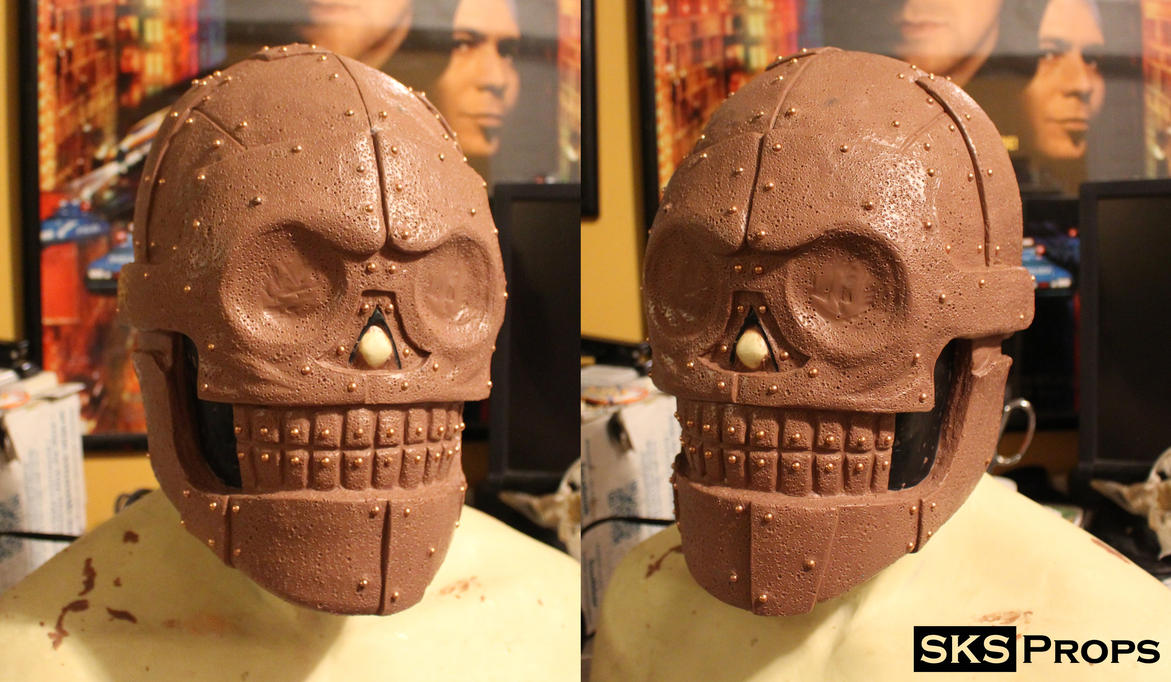 Turbo Kid Skeletron Cosplay WIP 2 - SKS Props by SKSProps