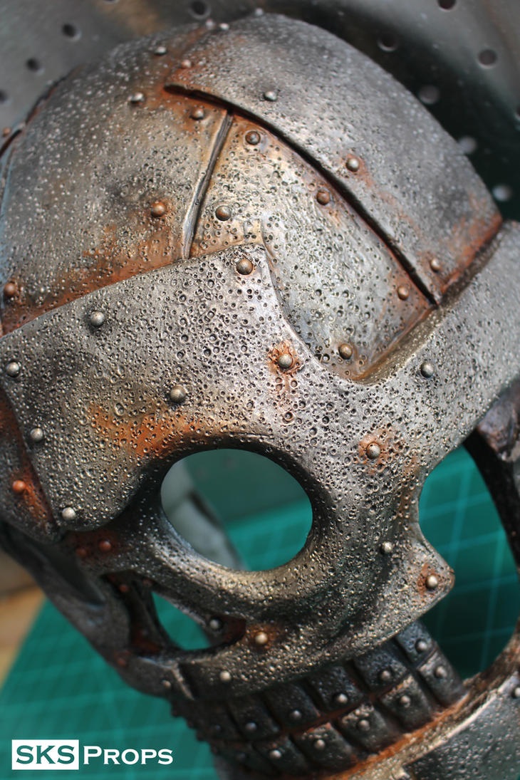 Turbo Kid Skeletron Cosplay WIP 3 - SKS Props by SKSProps