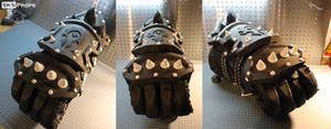 World of Warcraft Orc Cosplay WIP 9 SKS Props