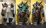 World of Warcraft Orc Cosplay WIP 18 SKS Props