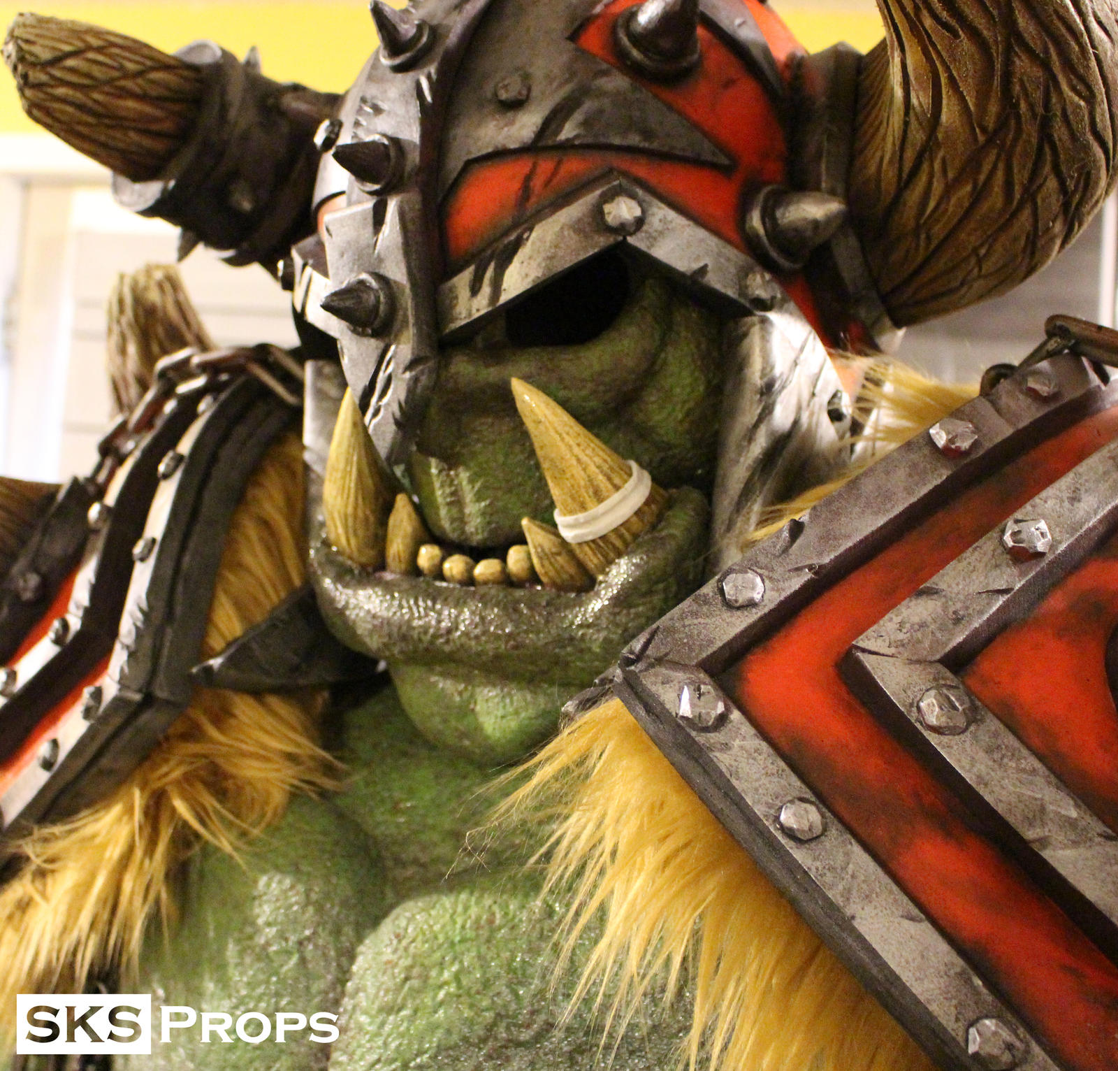 Orc Face Wow