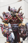 Warcraft Orc Full Scale Cosplay SKS Props