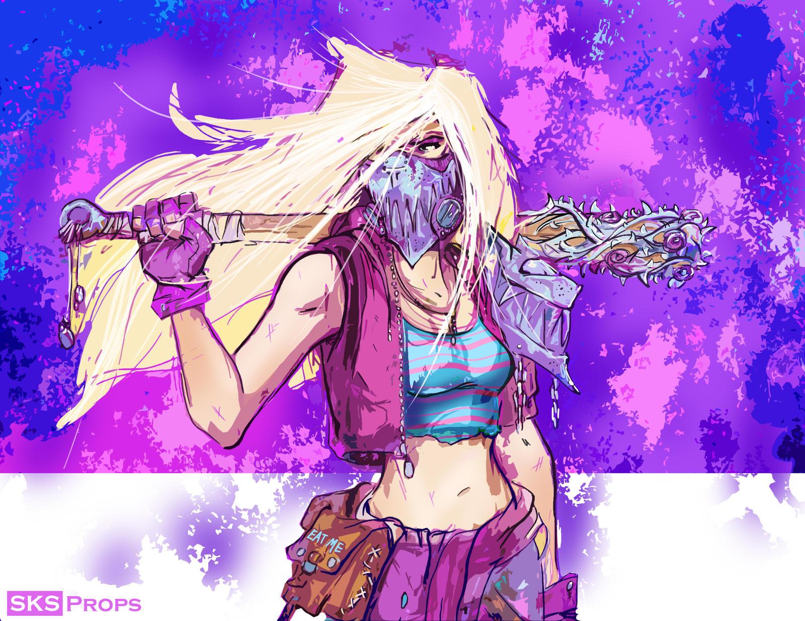 Wasteland Alice Cosplay Concept Art SKS Props by SKSProps ... Borderlands Character Backstory