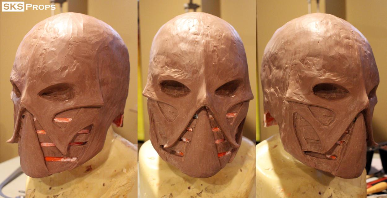 Frazetta Death Dealer Helmet WIP SKS Props by SKSProps