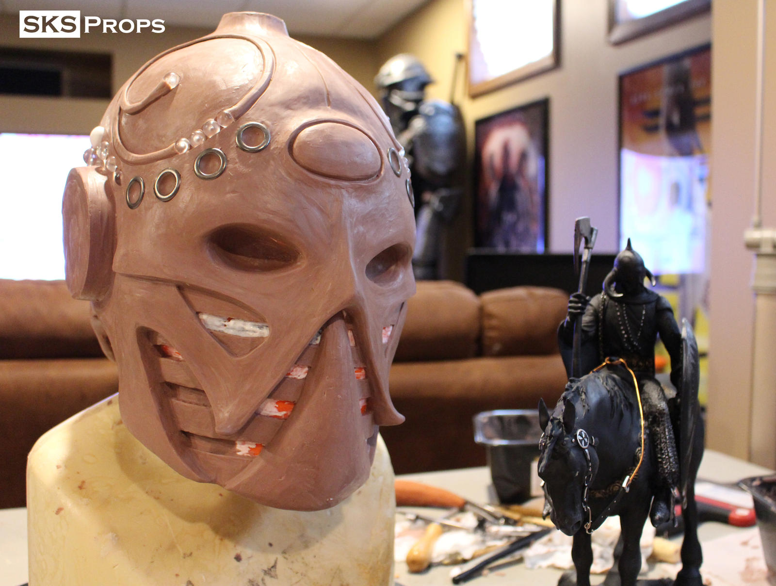Frazetta death dealer helmet for sale